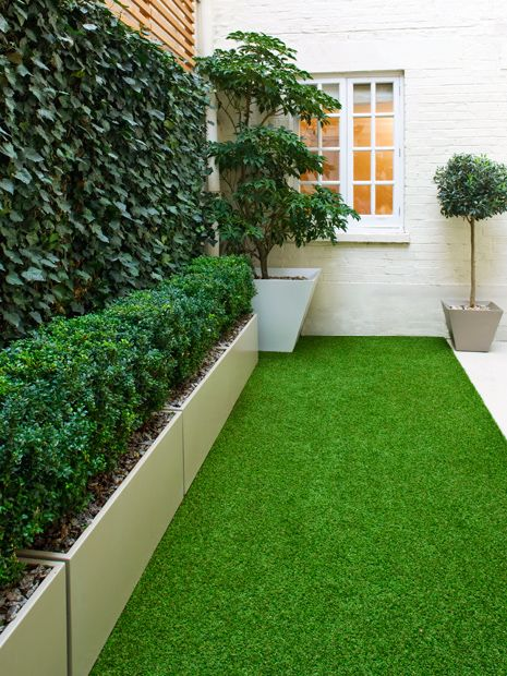 Organic Artificial Grass Detail