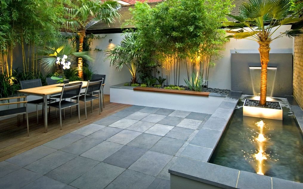 Chic Courtyard Garden Design London