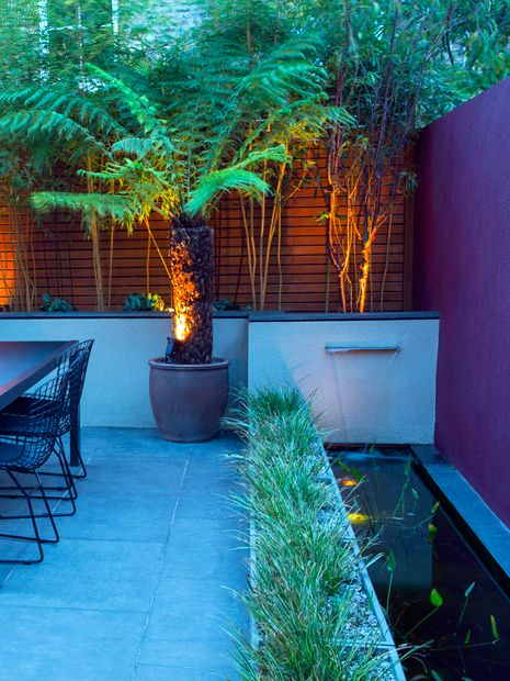 Small Courtyard Garden Design London Mylandscapes Modern