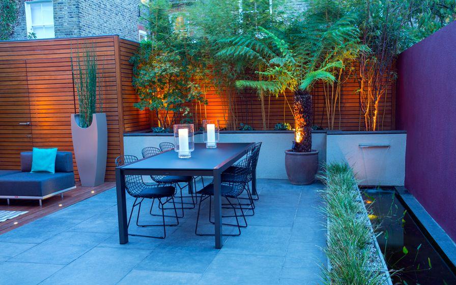 astounding garden seating ideas native design | Garden design blog | modern landscape design articles ...