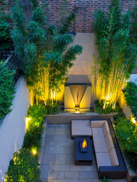 Garden lighting design | Mylandscapes garden designs London
