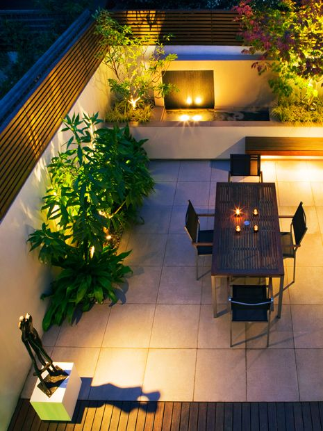Garden Lighting Design Mylandscapes Garden Designs London
