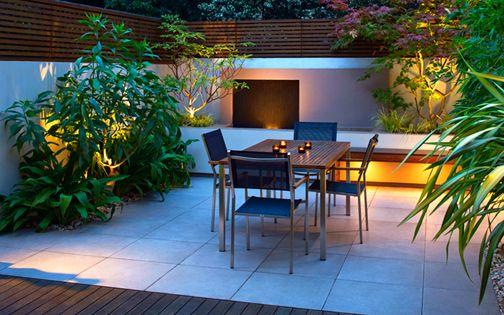 Innovative roof terrace wapping modern gardens for Garden lighting design 4 homes