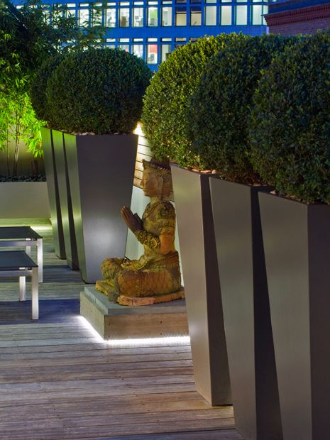 Modern outdoor sculpture | Mylandscapes contemporary ...