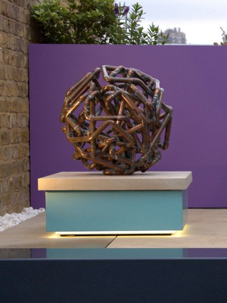 Modern Outdoor Sculpture Mylandscapes Contemporary Garden Designers