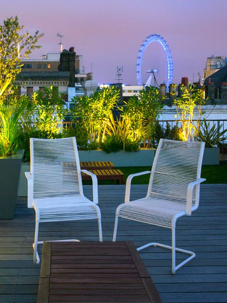 Modern Outdoor Seating Mylandscapes Contemporary Garden