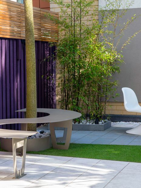 Small courtyard garden design London Mylandscapes modern ...