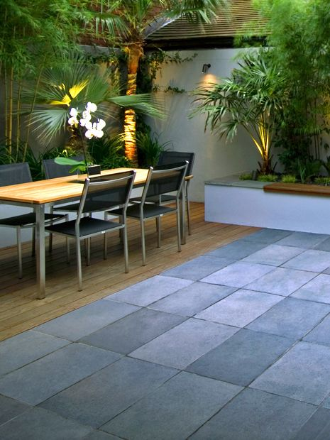 Modern Hard Landscaping Garden Designs London