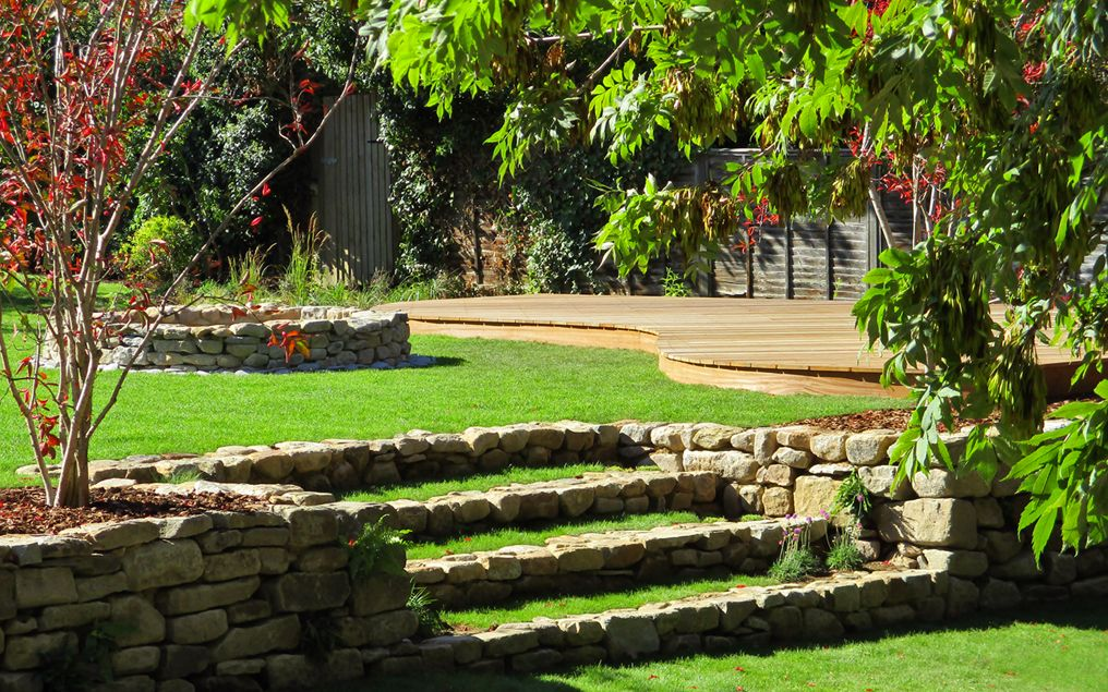 Large Garden Design Ideas London, Modern Large Gardens
