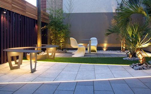 modern garden design highbury london