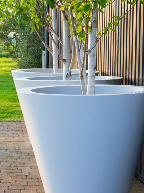Merveilleux Conical Ultra Large Garden Pots Made To Order