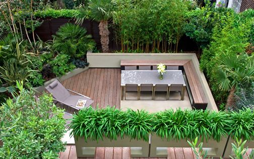 soft landscaping planting design