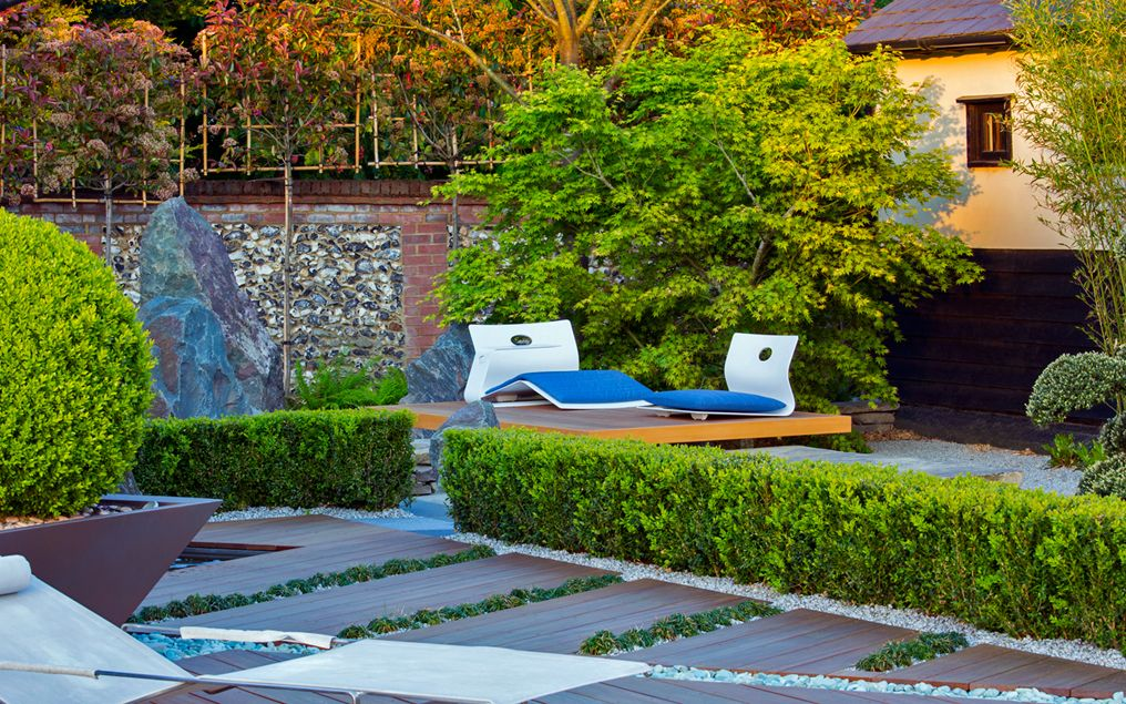 Planting ideas contemporary soft landscaping garden design for Soft landscaping ideas