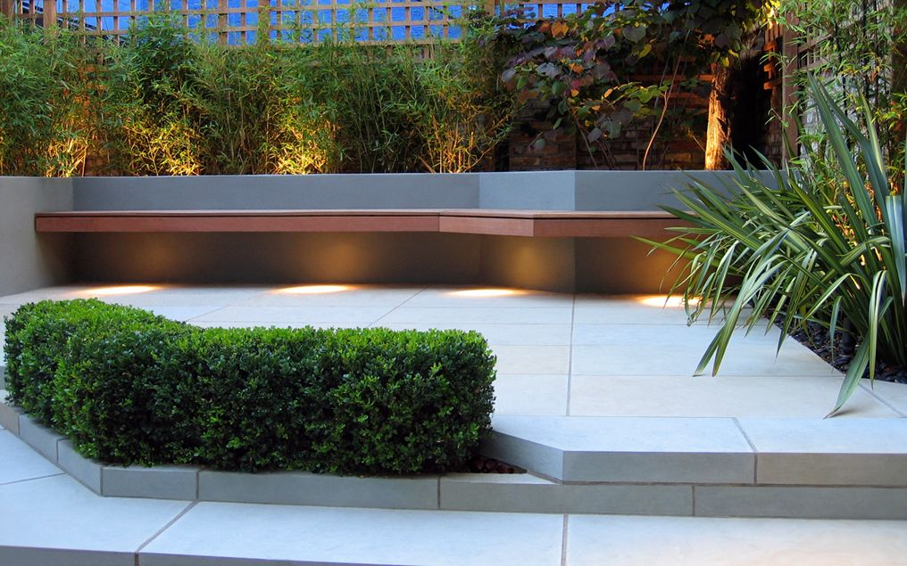 small city patio garden north london nw3 & Primrose Hill garden | small chic patio designed by Mylandscapes