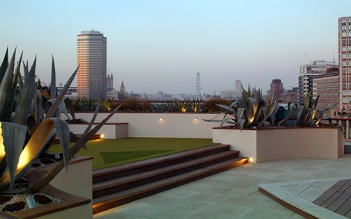 private roof garden projects