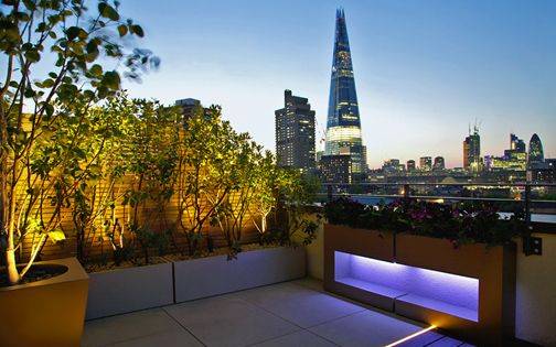 roof terrace landscaping