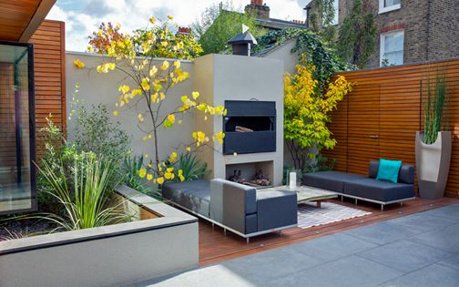 modern garden designs south london