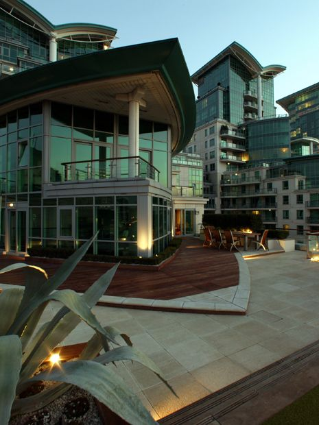 St George Wharf Roof Garden Roof Landscape Design London
