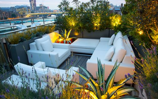 roof terrace planting ideas