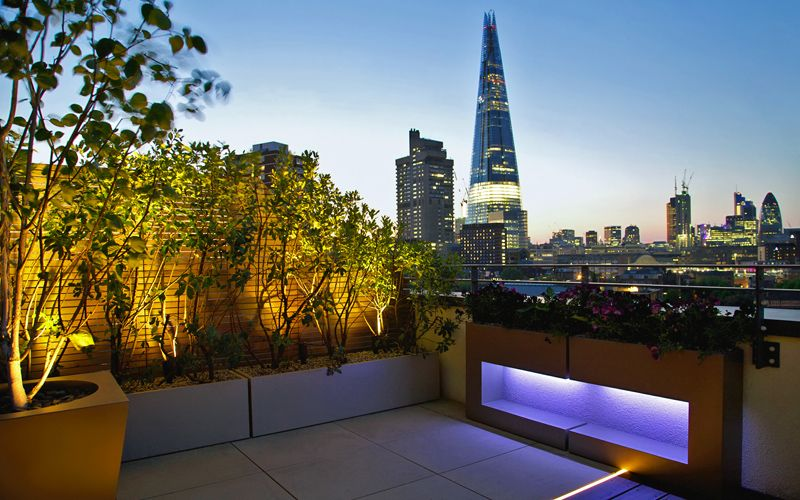 Roof Terrace Design And Build Modern Rooftops London