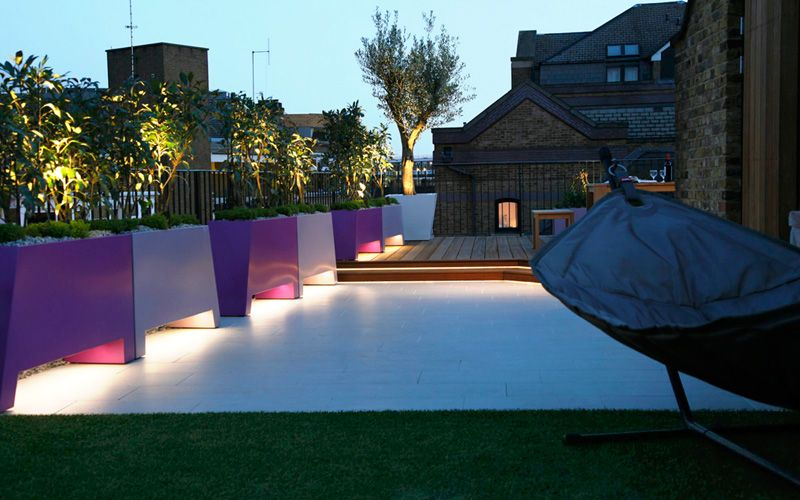 Luxury private rooftop garden | terrace designs London ...