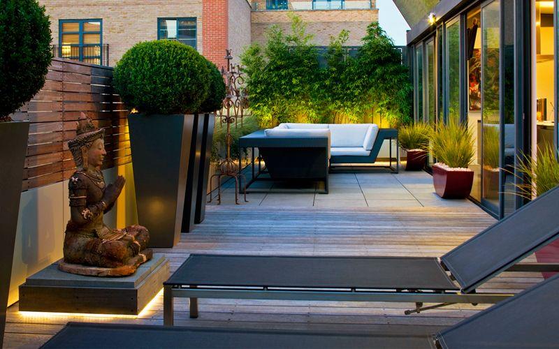 Shoreditch Roof Terrace Design Mylandscapes Roof Gardens London
