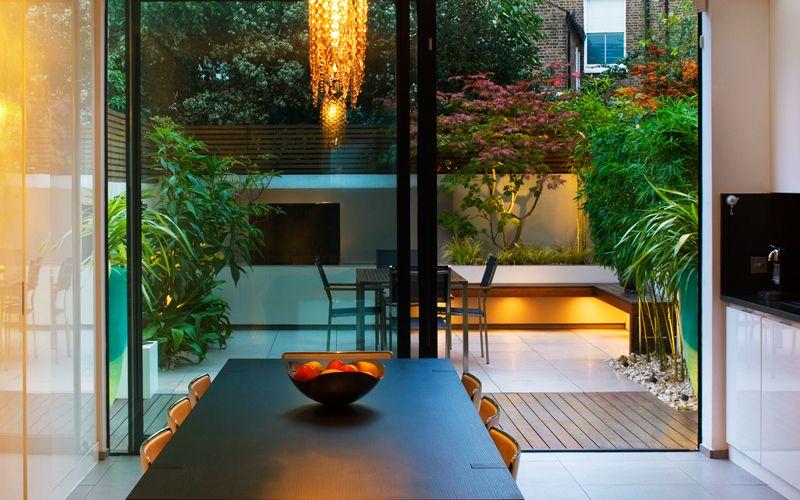 small city garden design london