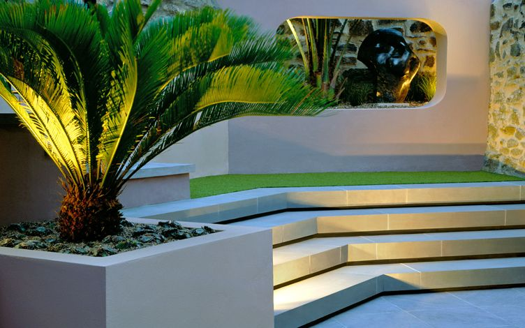 Courtyard Garden Design Mylandscapes Modern Gardens London