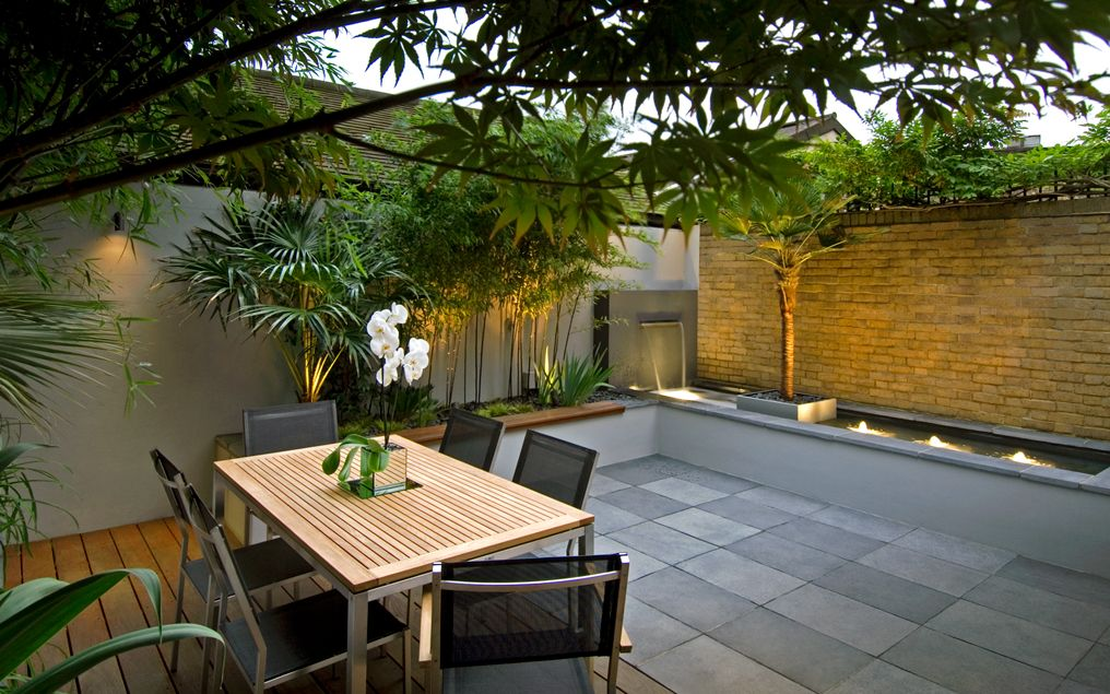 Hampstead garden design mylandscapes garden designers london for Modern garden design for small spaces