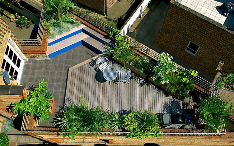 London Roof Garden Designers Mylandscapes Modern Roof