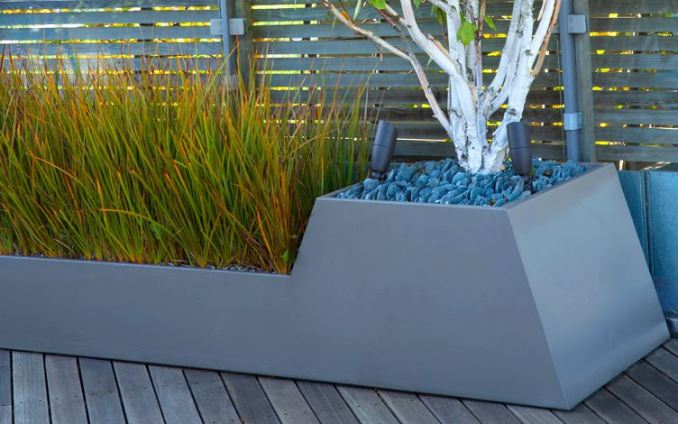 made to order roof garden special planter