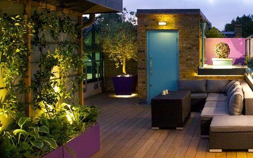 Roof Terrace Design Elements Mylandscapes Modern Roof Terraces