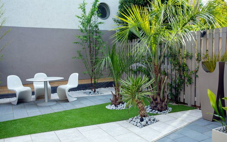 Small Contemporary London Garden Mylandscapes Modern