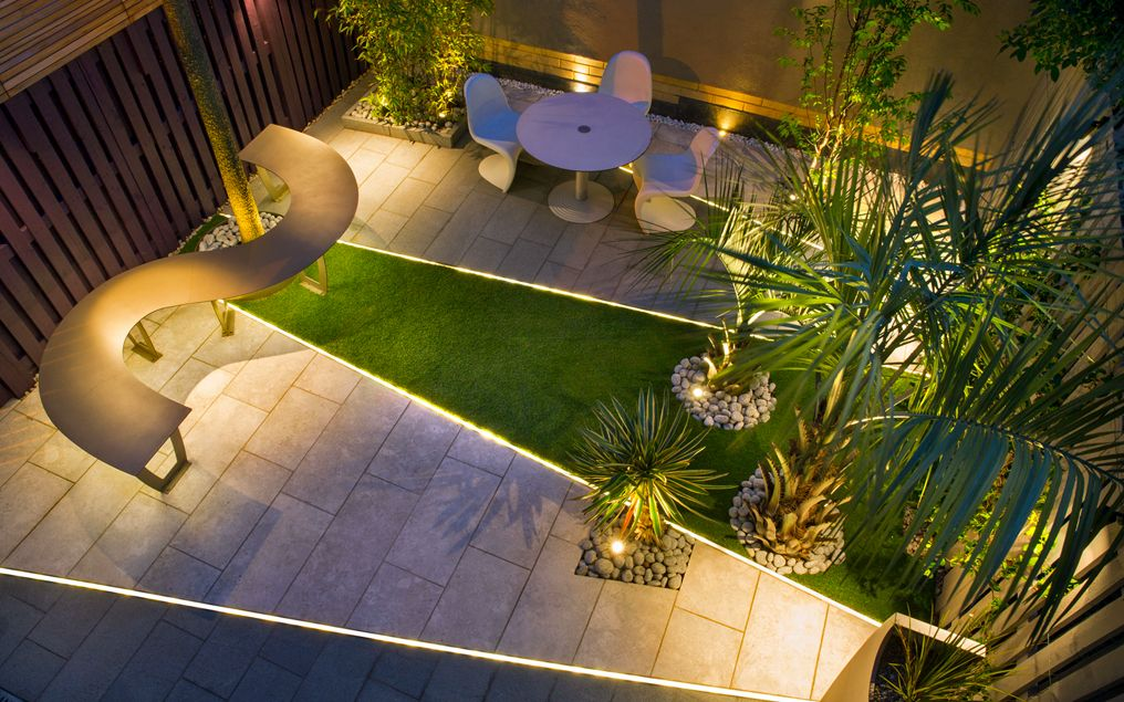 Highbury Garden. Small Garden Design London