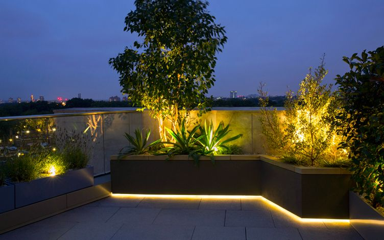 Small Rooftop Garden Design London Mylandscapes Modern