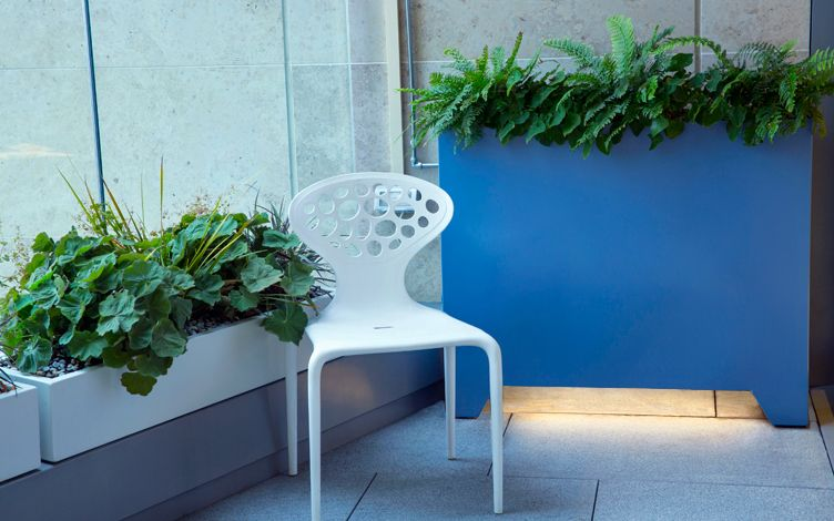 custom made chic rooftop planters