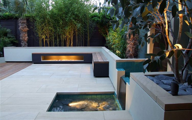 Low Maintenance Garden Designs London Modern Gardens Mylandscapes