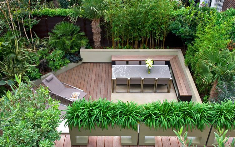 Small city garden design London | modern garden designers ...