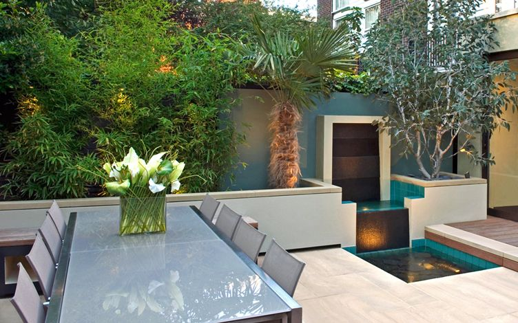 Small City Garden Design London Modern Garden Designers
